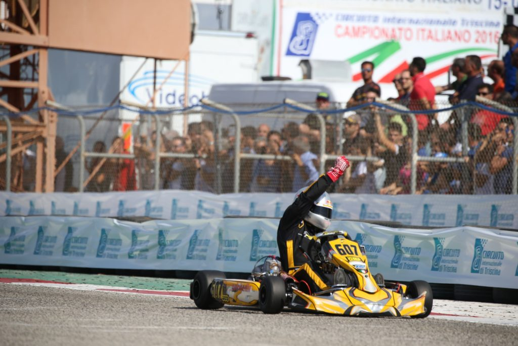 Campionato Italiano Aci Karting , Categoria 125 Prodriver Over , Daniele Cirelli