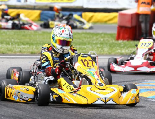 The TK Racing Kart Team at the top in KZ2 in the first round of the Italian Aci Karting Championship 2019