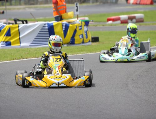 Ruschioni gets on the podium in KZN Over in the second round of the 2019 Italian Aci Karting Championship