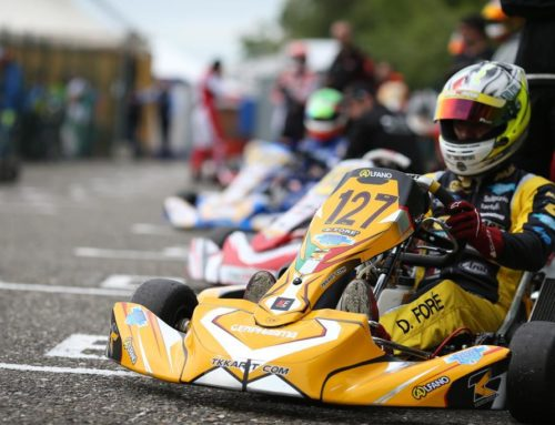 The 2nd Traffic Light of the Italian Aci Karting Championship 2019 Comes On