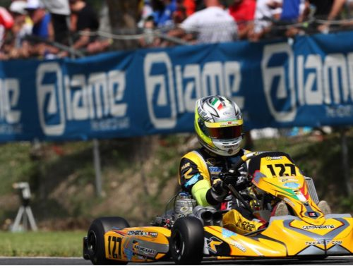 In Sarno For The Third For The Third Round Of The Italian Aci Karting Championship 2019
