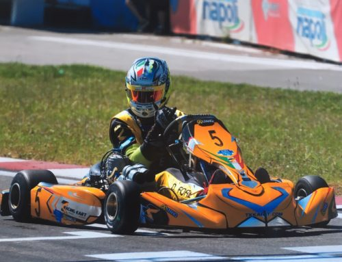 Double Victory For the TK Racing Kart at the Vega Trophy on the Sarno Circuit