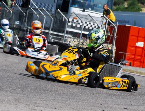 Pirrotti Racer Kart And Salvatore Giammò Restart Greatly