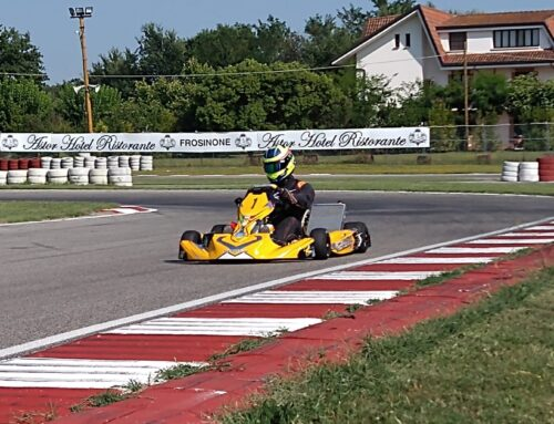 Automotive Champion, Gigi Ferrara Chooses TK Racing Kart