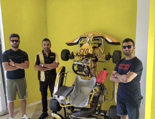Safe & Emotion New TK Racing Kart Dealer