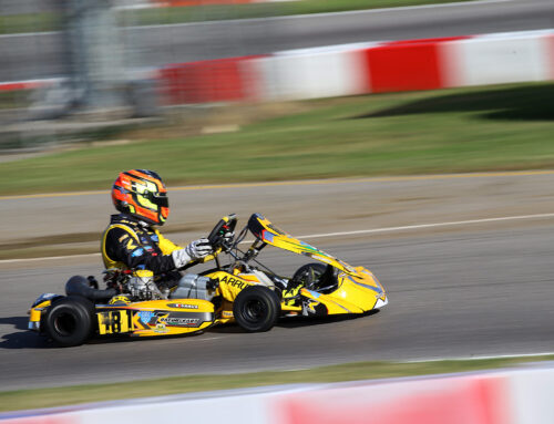 Filed the 2020 Karting World Championship for the TK Racing Team