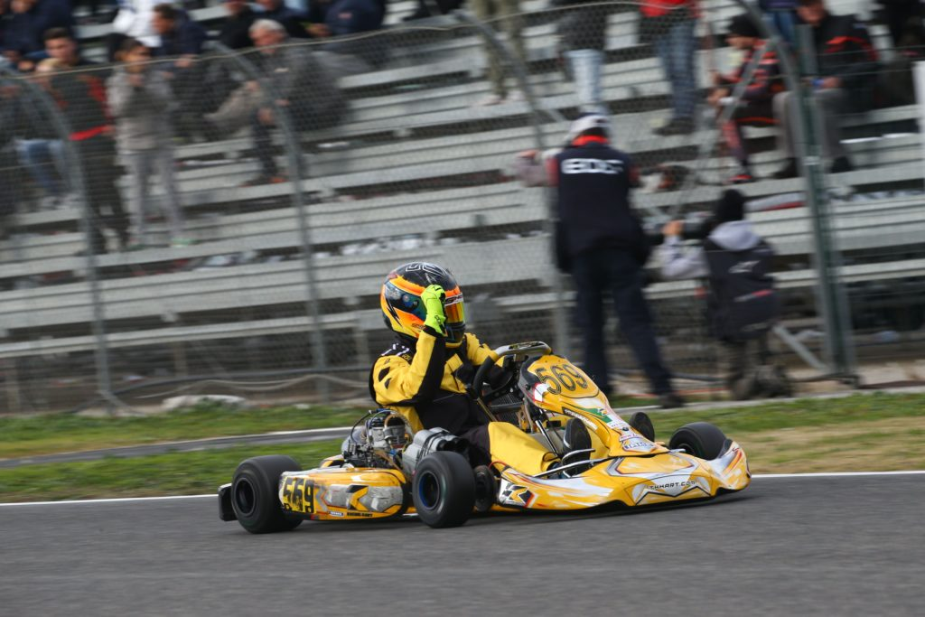 Coppa Italia Aci Karting , Categoria KZ3 Under , Simone Ragno