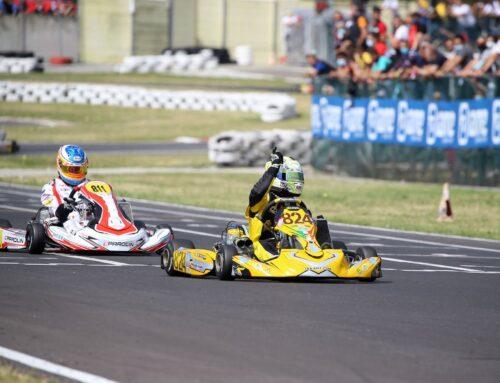 Antonio Piccioni Wins The First Round of Italian Aci Karting KZN Under Championship